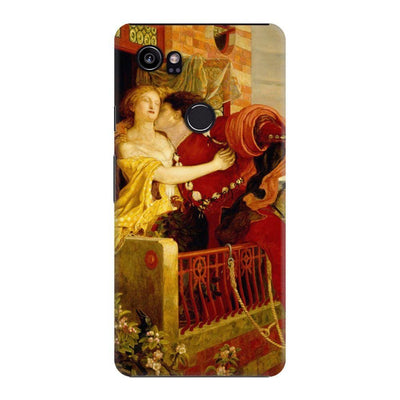 ROMEO AND JULIET OIL ON CANVAS 1867 Slim Case For Pixel 2 XL