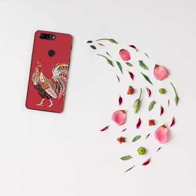 Rooster-The Morning Champ Slim Case And Cover For Oneplus 5T