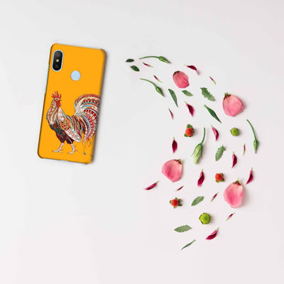 Rooster-The Morning Champ Slim Case And Cover For Redmi 6 Pro