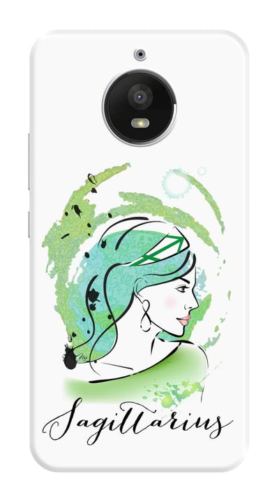 Sagittarius By Martina Pavlova Slim Case For Moto E4 Plus