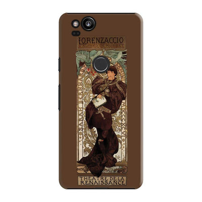 Sarah Bernhardt Poster For Lorenzaccio 1896 Colour Lithograph Slim Case Pixel 2