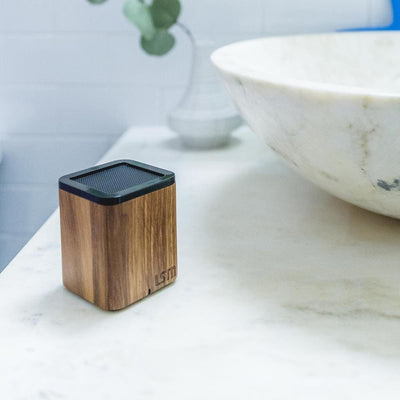 Satellite by LSTN - wireless speakers encased in fine wood