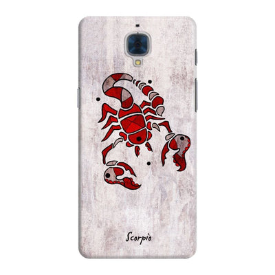 Scorpion By Roly Orihuela Slim Case For Oneplus Three