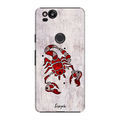 Scorpion by Roly Orihuela Slim Case For Pixel 2