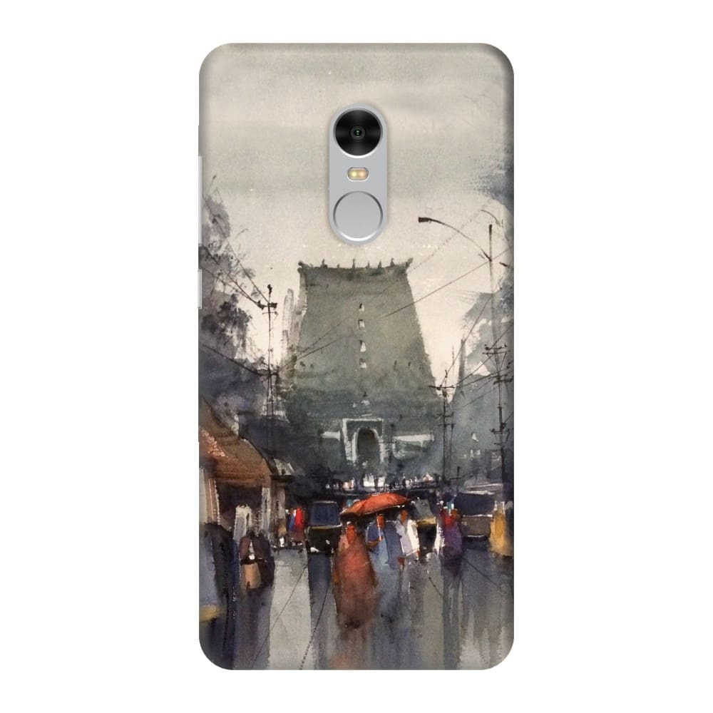SHREE PADMANABHA TEMPLE Slim Case And Cover For REDMI NOTE 4