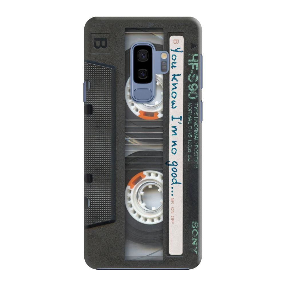 Sony Vintage Cassette Slim Case And Cover For Galaxy S9 Plus