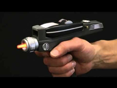 Star Trek Phaser - gesture controlled universal remote