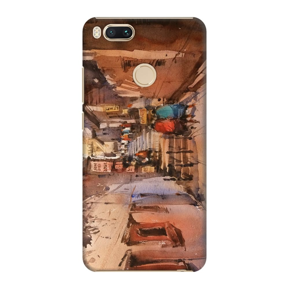 STREETS OF BENARAS Slim Case And Cover For REDMI MI A1