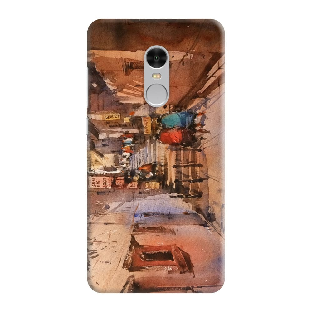 STREETS OF BENARAS Slim Case And Cover For REDMI NOTE 4