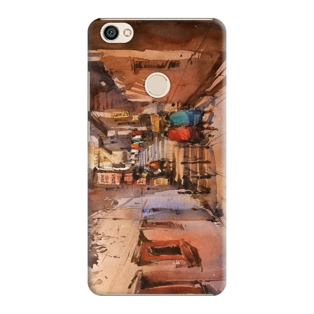 STREETS OF BENARAS Slim Case And Cover For REDMI Y1