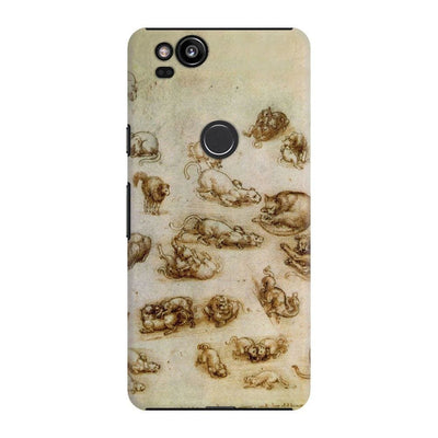 Study Sheet With Cats Slim Case For Pixel 2