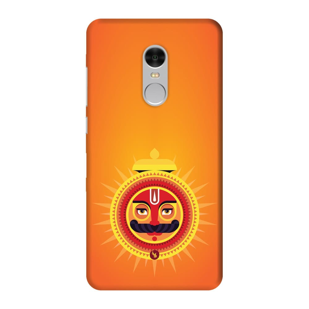 SURYA-THE ONE WHO ILLUMINATES Slim Case And Cover For REDMI NOTE 4