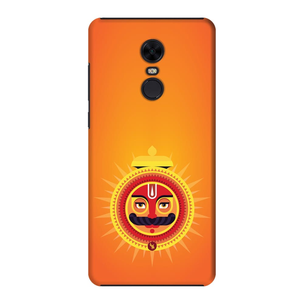 SURYA-THE ONE WHO ILLUMINATES Slim Case And Cover For REDMI NOTE 5