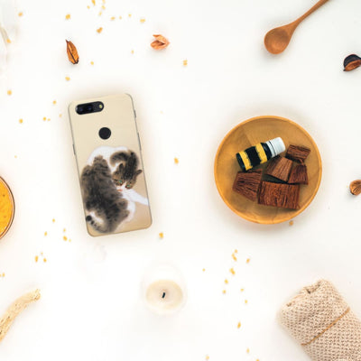 Tabby Cat Slim Case And Cover For Oneplus 5T