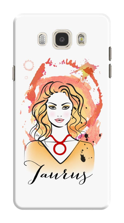 Taurus by Martina Pavlova Slim Case For Galaxy J7 (2016)