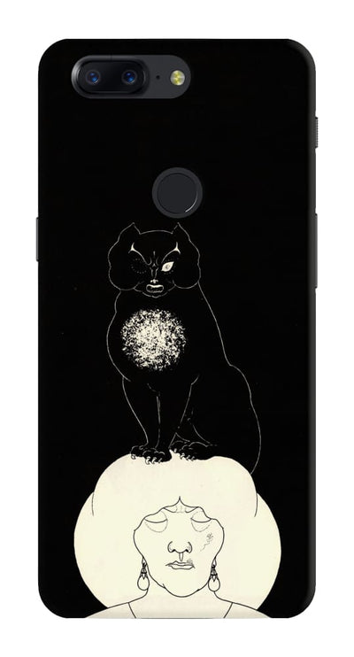 The Black Cat Slim Case And Cover For Oneplus 5T