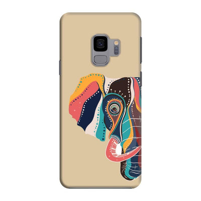 The Compassionate Elephant Slim Case And Cover For Galaxy S9 - Brown