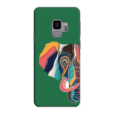 The Compassionate Elephant Slim Case And Cover For Galaxy S9 - Green