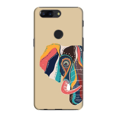 The Compassionate Elephant Slim Case And Cover For Oneplus 5T - Brown