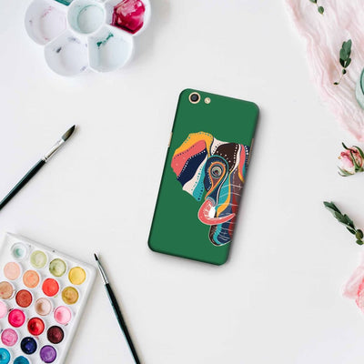 The Compassionate Elephant Slim Case And Cover For Oppo F3
