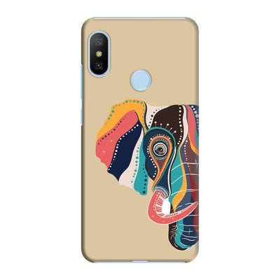 The Compassionate Elephant Slim Case And Cover For Redmi 6 Pro - Brown