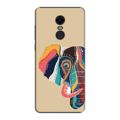 The Compassionate Elephant Slim Case And Cover For Redmi Note 5 - Brown