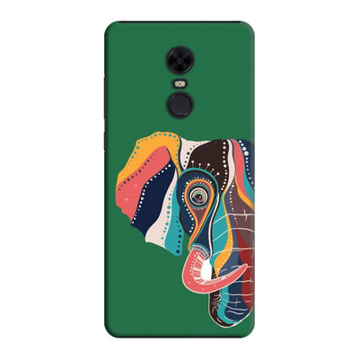 The Compassionate Elephant Slim Case And Cover For Redmi Note 5 - Green