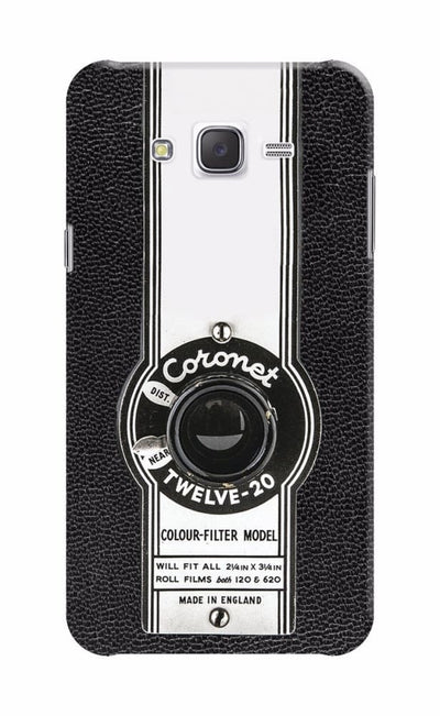 The Coronet Twelve-20 Box Camera Designer Slim Case And Cover For Galaxy J7