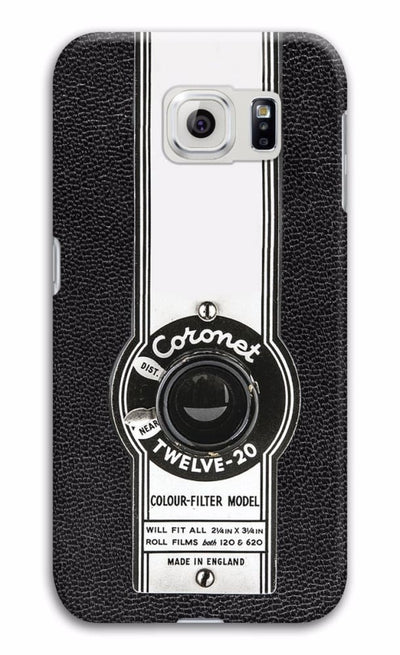 The Coronet Twelve-20 Box Camera Designer Slim Case And Cover For Galaxy S6