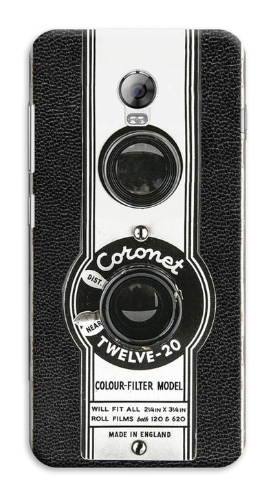 The Coronet Twelve-20 Box Camera Designer Slim Case And Cover For Lenovo Vibe P1