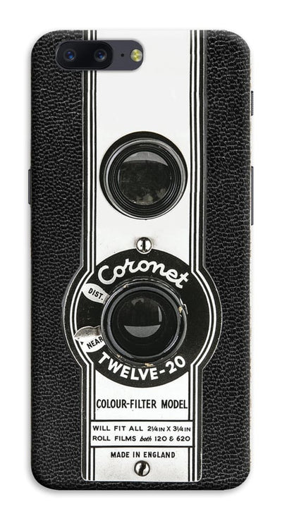 The Coronet Twelve-20 Box Camera Designer Slim Case And Cover For OnePlus Five