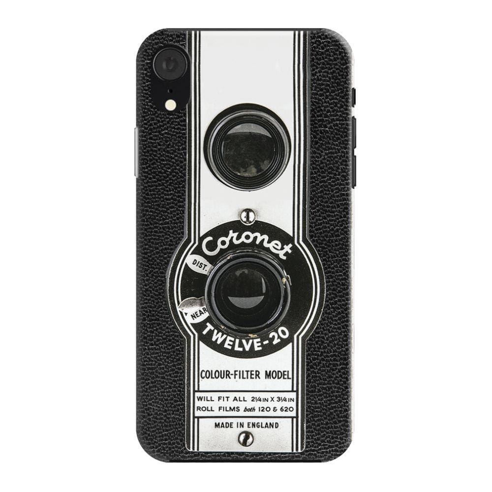 The Coronet Twelve-20 Box Camera Slim Case And Cover For iPhone XR