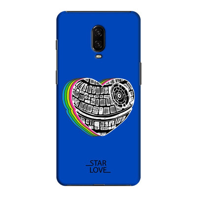 The Endearing Heart Slim Case And Cover For Oneplus 6T - Blue