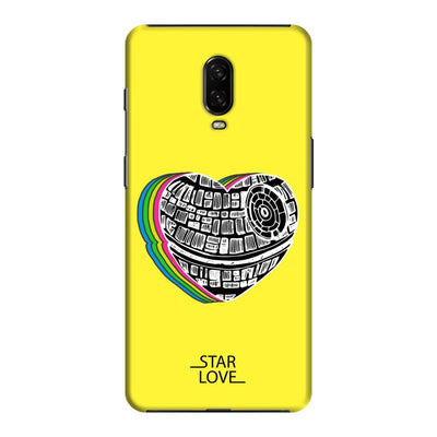 The Endearing Heart Slim Case And Cover For Oneplus 6T - Yellow