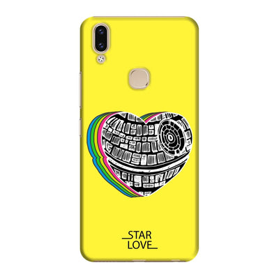 The Endearing Heart Slim Case And Cover For Vivo V9 - Yellow