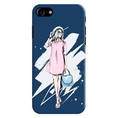 The Fashionista Slim Case And Cover For Iphone 7 - Blue