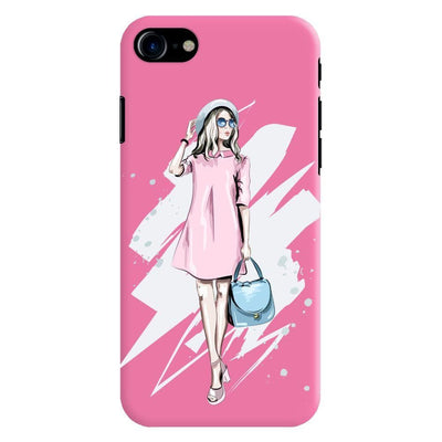 The Fashionista Slim Case And Cover For Iphone 7 - Pink
