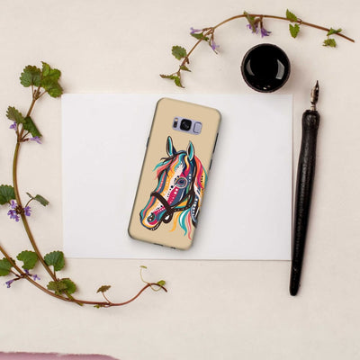 The Free Spirited Horse Slim Case And Cover For Galaxy S8