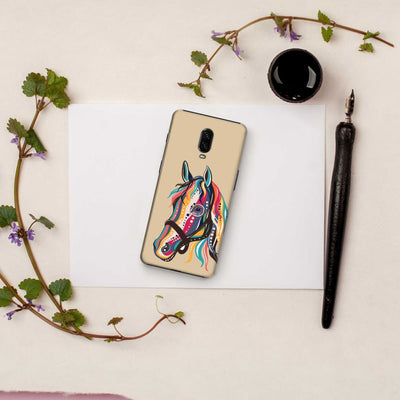 The Free Spirited Horse Slim Case And Cover For Oneplus 6T