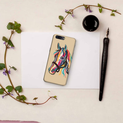 The Free Spirited Horse Slim Case And Cover For Oneplus Five