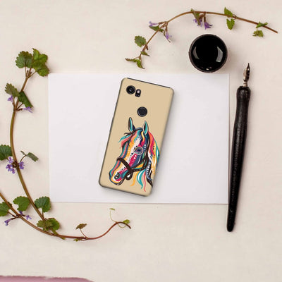 The Free Spirited Horse Slim Case And Cover For Pixel 2 Xl