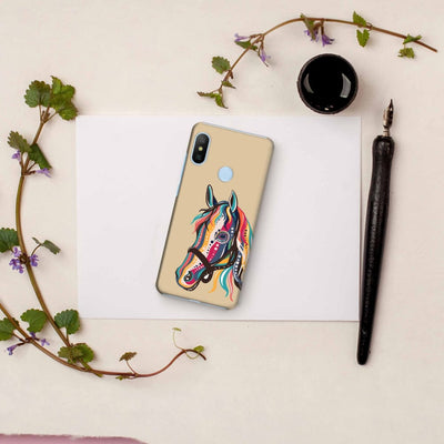The Free Spirited Horse Slim Case And Cover For Redmi 6 Pro