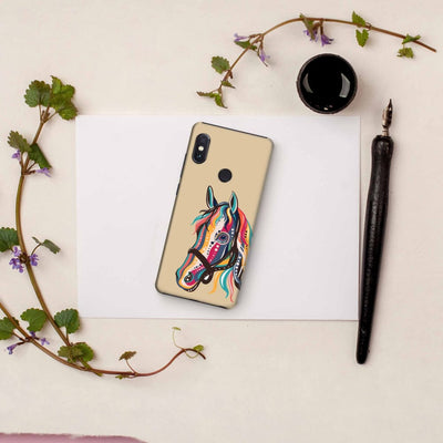 The Free Spirited Horse Slim Case And Cover For Redmi Note 5 Pro