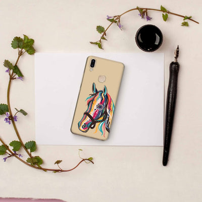 The Free Spirited Horse Slim Case And Cover For Vivo V9