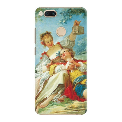 THE HAPPY LOVERS OIL ON CANVAS C. 1760-65 Slim Case For Redmi MI A1