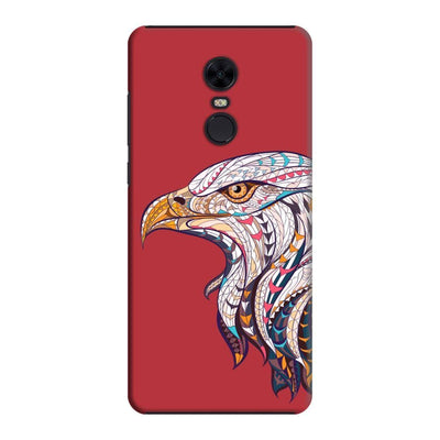 The King Of Skies Slim Case And Cover For Redmi Note 5 - Red