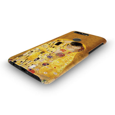 The Kiss Oil & Gold Leaf On Canvas 1907-08 Slim Case And Cover For Oneplus 5T