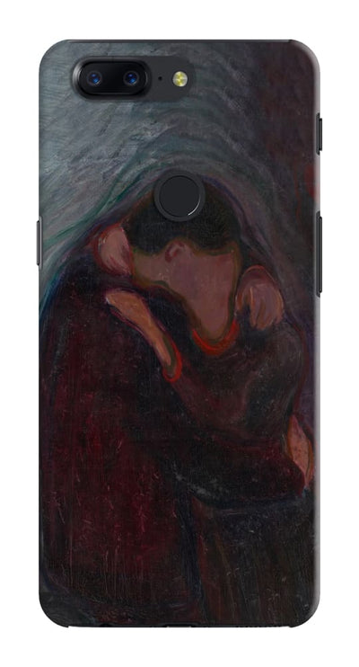 The Kiss Oil On Canvas- Etching- Wood-Cut C. 1892-97 Slim Case And Cover For Oneplus 5T