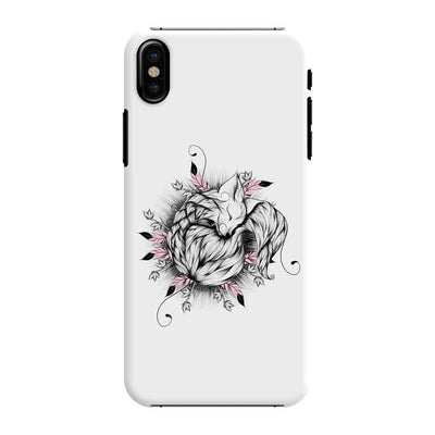 The Little Fox Slim Case And Cover For Iphone X - White