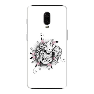 The Little Fox Slim Case And Cover For Oneplus 6T - White